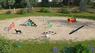 Парк для собак №3